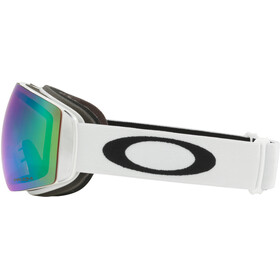 Oakley Flight Deck XM Snow Goggle Matte White/Prizm Jade Iridium